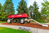 Giant Red Wagon