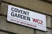 Covent Garden Street Sign