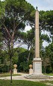 The Obelisk In Villa Celimontana, Rome