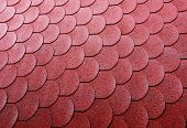 Roof tiles backround