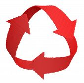 Sign recycle  (clipping path included)