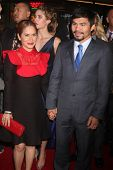 LOS ANGELES - JAN 20:  Jinkee Pacquiao, Manny Pacquiao at the