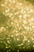 Blurred Yellow Abstract Background