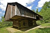 Old Cantilevered Barn