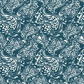 Vector curles pattern
