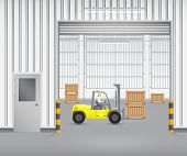 Fork lift factory