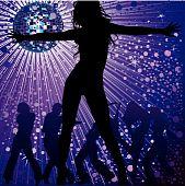 people dancing in night-club