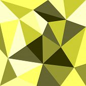 Green and yellow triangle background or pattern.