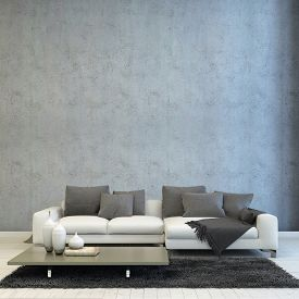 pic of couch  - 3D Rendering of Architectural Living Room Design - JPG
