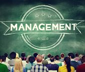 stock photo of role model  - Management Manager Trainer Director Role Model Concept - JPG