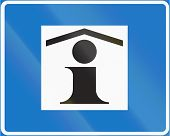 picture of traffic sign  - Finnish traffic sign no - JPG