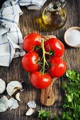 image of cilantro  - Fresh Tomatoes - JPG