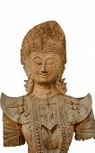 pic of carving  - Abstract Cambodia wood carving art in Thailand - JPG