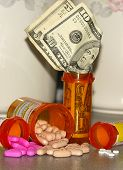 Pill Bottle Money Clip