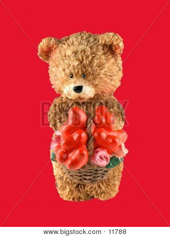 Valentine Bear poster