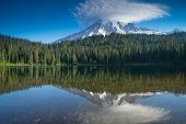 Постер, плакат: Reflection Lake Morning