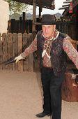 Old Western Gunfighter