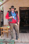 Old Cowboy Gunfighter