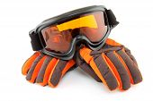Ski Goggles And Gloves