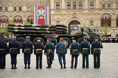 Smerch Rszo - Heavy Multiple Rockets Launcher Participate In Rehearsal