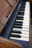 Antique Piano Keyboard