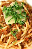 Bolognese Mixed With Spaghetti poster
