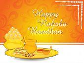 happy rakshabandhan illustration