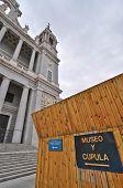 Museo de la Catedral de la Almudena y Subiba a la Cupula Madrid Spain poster