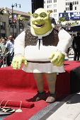 LOS ANGELES - MAY 20: Shrek at a ceremony where Shrek receives a star on the Hollywood Walk of Fame,