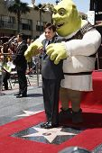 LOS ANGELES - MAY 20: Shrek; Mike Myers at a ceremony where Shrek receives a star on the Hollywood W