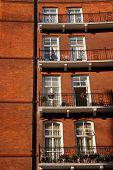 London Victorian Apartments Detail