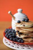 Scotch Pancakes With Raisins