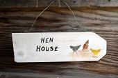 Hen House Sign