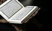 Closeup Shot Of Koran