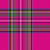 Tartan Stewart Royal  Plaid. Scottish Pattern In Violet And Black Cage. Scottish Cage. Traditional S poster