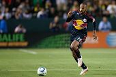 CARSON, CA. - MAY 7: New York Red Bulls F Thierry Henry #14 in action during the MLS game between th