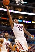 LOS ANGELES - MARCH 10: Arizona Wildcats G Lamont Jones #12 in action during the NCAA Pac-10 Tournam
