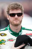 FONTANA, CA. - MARCH 27: Dale Earnhardt Jr. driver of the #88 AMP Energy / National Guard Chevrolet