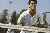 stock photo of early 20s  - Tennis Players - JPG