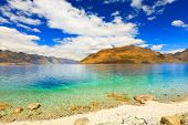 Lake Wakatipu in New Zealand