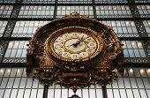 Clock In Orsay Museum