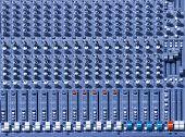 console mixer de som