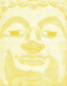 Halftone Buddha