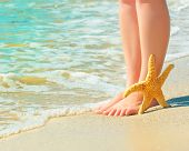image of legs feet  - girl - JPG