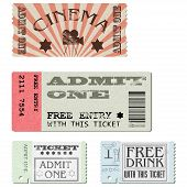 Vector set tickets
