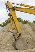 The Working End Of A Backhoe