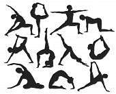 Modern, Stylish Poses Of Yoga With A Man. Yoga, Meditation, Breathing. Beyond Yoga Sophisticated Sit poster