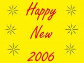 Happy New 2006 poster