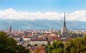 Cityscape Of Turin