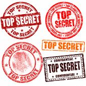 Top Secret Stamp Collection